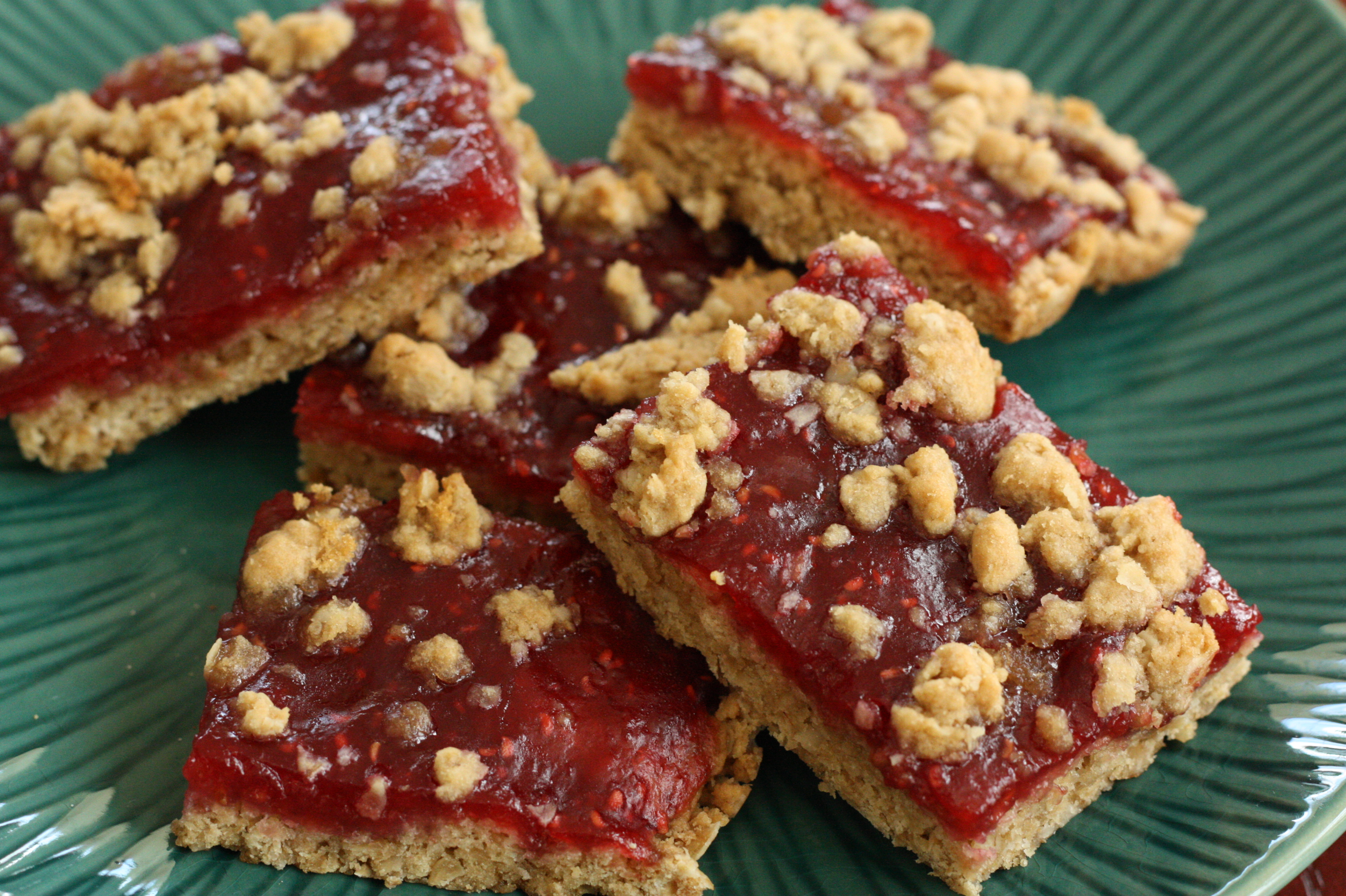 oatmeal cookie delicious raspberry oatmeal cookie bars recipe yummly ...